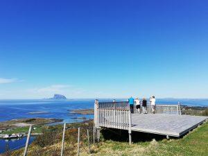 Dønnesfjellet utsiktspunkt. Foto: Kystriksveien Reiseliv