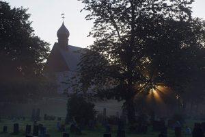 Dønnes kirke. Foto: Erlend Haarberg