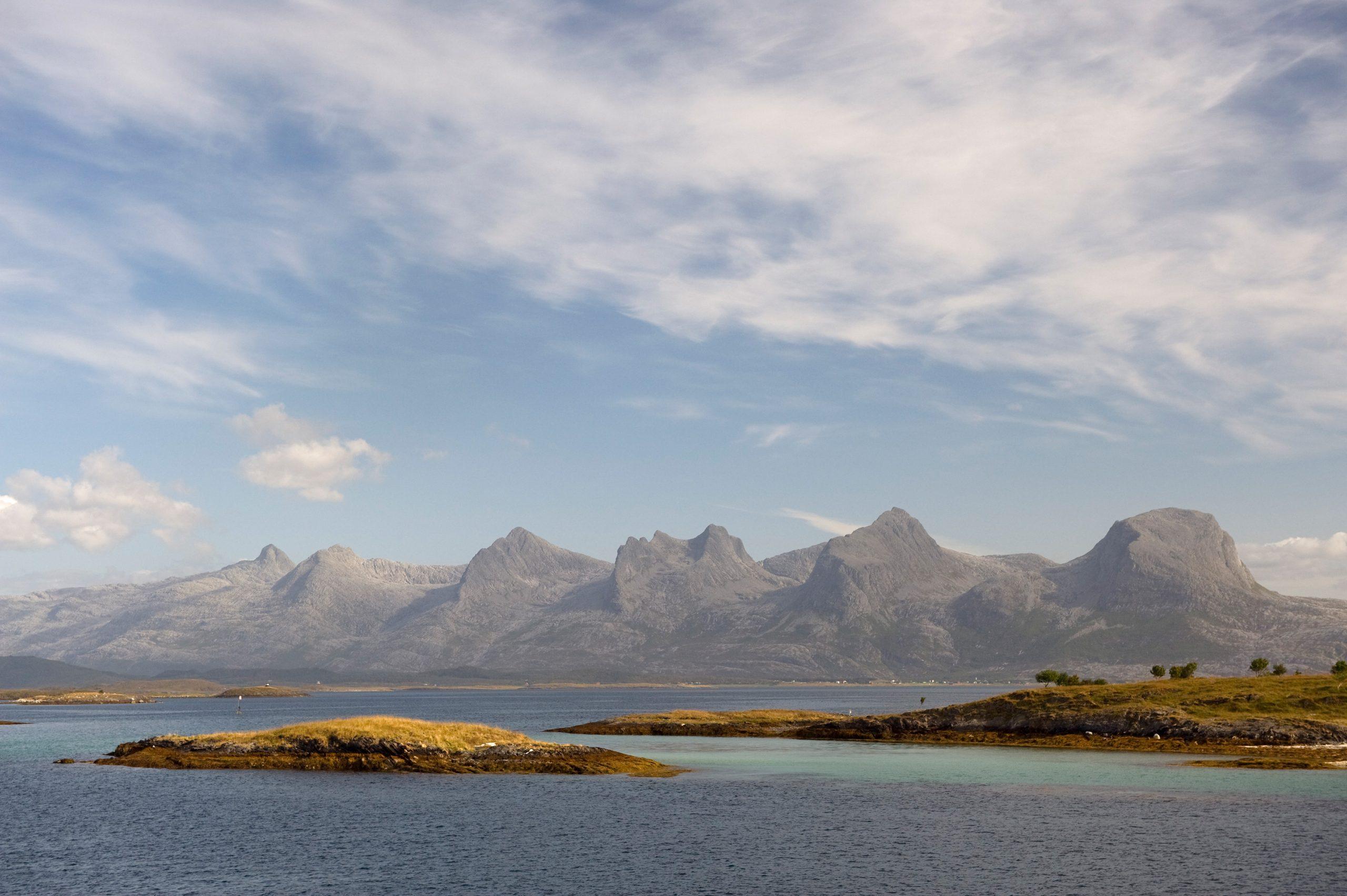 De Syv Søstre. Foto: Erlend Haarberg