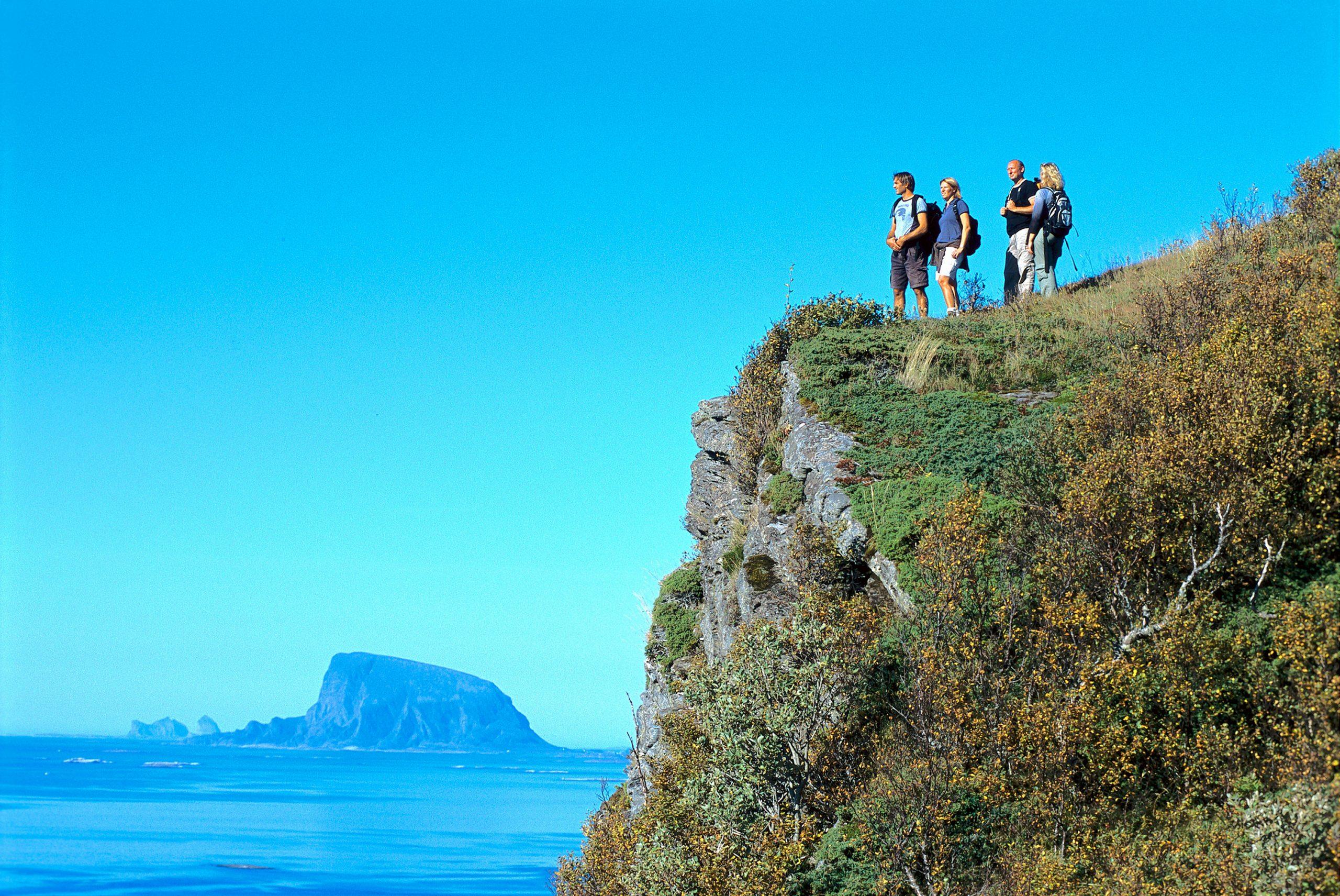 Dønnesfjellet. Foto: Terje Rakke